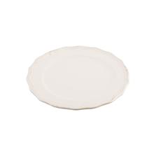 花边陶瓷餐盘